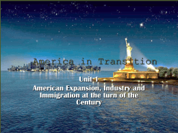 America in Transition - Allen Independent School District