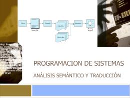 PROGRAMACION DE SISTEMAS