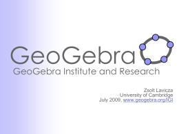 GeoGebra - PBworks