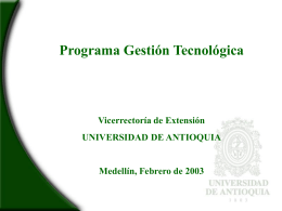PGT Presentacion ejecutiva