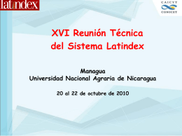 Diapositiva 1 - PERii | Nicaragua