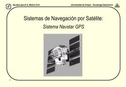 Sistema GPS - Universidad de Oviedo