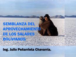 SEMBLANZA DEL APROVECHAMIENTO DE LOS SALARES …