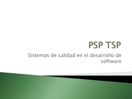 PSP TCP