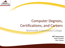 Computer Degrees, Certifications, and Careers