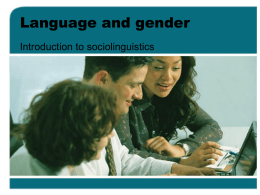 Language, gender, and politeness