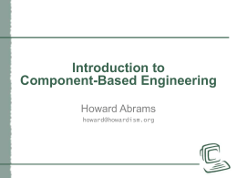 Introduction to Component