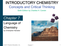 Introductory Chemistry: Concepts & Connections 4th …