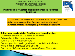 Diapositiva 1 - Master Oficial en Turismo — …