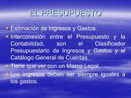 FASES DEL CICLO PRESUPUESTARIO - lvasconez