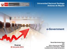 Diapositiva 1 - Portal del Estado Peruano