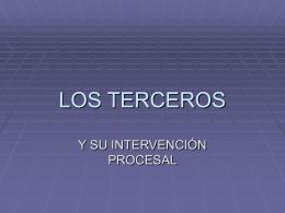 LOS TERCEROS