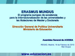 Diapositiva 1 - Bienvenidos a la web de ACESEA