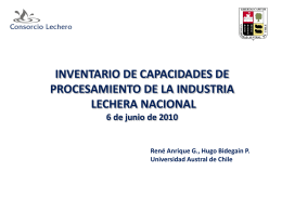 Diapositiva 1 - Consorcio Lechero