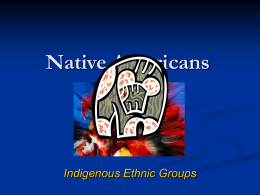 Native Americans - Seattle Central College