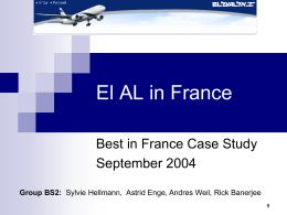 EL AL 2005 - HEC Paris