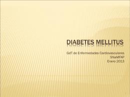 DIABETES MELLITUS - Sociedad Navarra de Medicina de