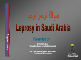 LEPROSY - Bibliotheca Alexandrina