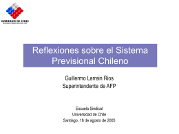 Cobertura, densidad y pensiones en Chile: Proyecciones a