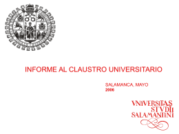 Diapositiva 1 - Universidad de Salamanca