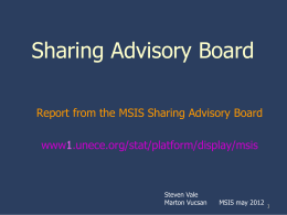 CES Sharing Advisory Board