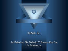TEMA 12.