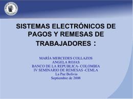 SISTEMAS DE ENVIO DE REMESAS A COLOMBIA Una …