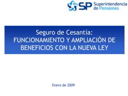 Nuevo Sistema de Pensiones: Aspectos Operativos