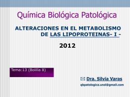 Dislipoproteinemias I
