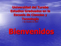 Universidad del Turabo Estudios Graduados en la Escuela …