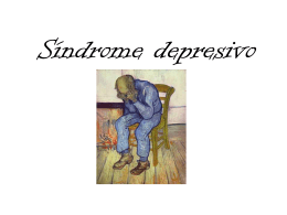 Sindrome depresivo