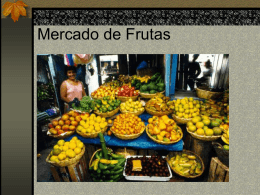 Mercado de frutas
