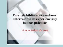MEJORA BIBLIOTECAS ESCOLARES
