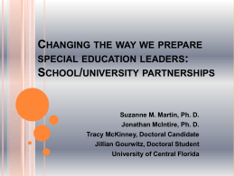 Preparing Urban School Leaders to Serve Students with