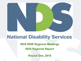 NDS-Presentation Template