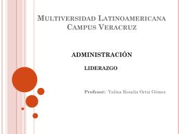 Multiversidad Latinoamericana Campus Veracruz