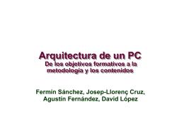 Arquitectura del PC