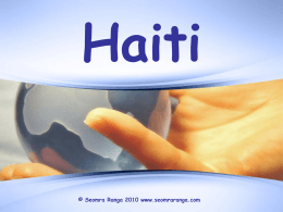 Haiti - Seomra Ranga
