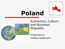 INVESTING IN POLAND