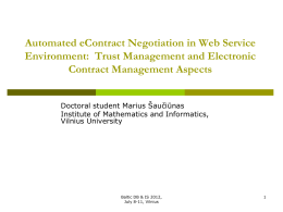 Automated eContract Negotiation in Web Service …