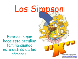 Los Simpson - PowerPoints .org
