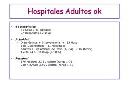 Hospitales Adultos