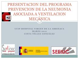 Diapositiva 1 - UCI PEDIATRICA ARRIXACA MURCIA