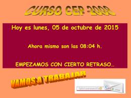 CURSO CEP 2008