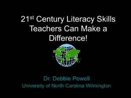 21st Century Learning - People Server at UNCW