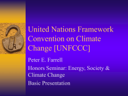 United Nations Framework Convention on Climate …