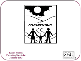 CO-PARENTING THROUGH DIVORCE