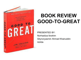 BOOK REVIEW GOOD-TO