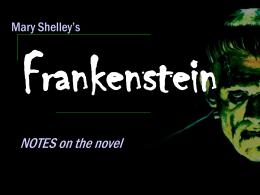 Frankenstein - Public Schools of Robeson County / …