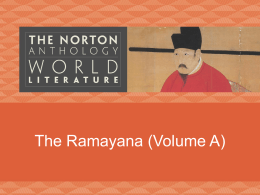 Ramayana - IWS.COLLIN.EDU - Faculty Web site Directory